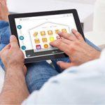 control-remoto-pergola-bioclimatica-tablet